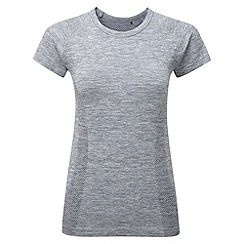 Tog 24 - Dark grey marl fierce tcz stretch seamless t-shirt