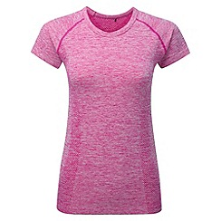 Tog 24 - Berry marl fierce tcz stretch seamless t-shirt