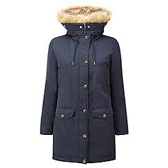 Tog 24 - Dark midnight firenza milatex/down parka jacket