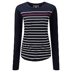 Tog 24 - Navy stripe fleur deluxe long sleeve t-shirt