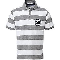 Tog 24 - Lt grey stripe flint polo shirt