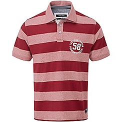 Tog 24 - Rio red stripe flint polo shirt