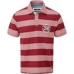 Tog 24 - Rio red stripe flint polo shirt