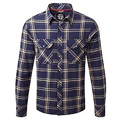 Tog 24 - Midnight check foxe tcz cotton shirt