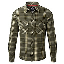 Tog 24 - Dark olive foxe tcz cotton shirt