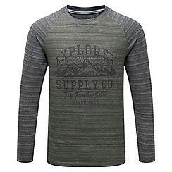 Tog 24 - Olive/grey fraser deluxe t-shirt supply print