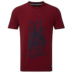Tog 24 - Rio red galaxy t-shirt fire print