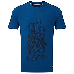 Tog 24 - New blue galaxy t-shirt fire print