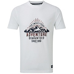 Tog 24 - White galaxy t-shirt adventure print