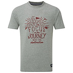 Tog 24 - Grey marl galaxy t-shirt focus print
