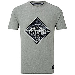 Tog 24 - Grey marl galaxy t-shirt block print