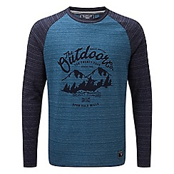 Tog 24 - Navy gallon deluxe long sleeve t-shirt