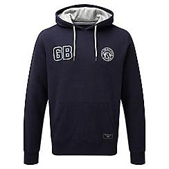 Tog 24 - Navy badge garner deluxe hoodie