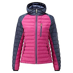 Tog 24 - Berry/mood blue glacier down jacket