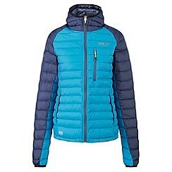 Tog 24 - Turquoise/mood blue glacier down jacket