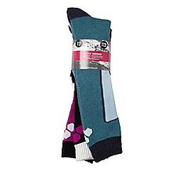 Tog 24 - Assorted 3pk glencoe ld tcz thrml ski sock