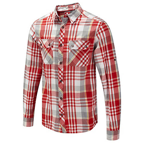 Tog 24 - Red Goldston Tcz Cotton Shirt