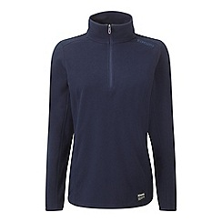 Tog 24 - Navy halo tcz 100 fleece zip neck