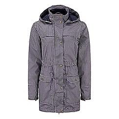 Tog 24 - Dark plum print happy milatex jacket