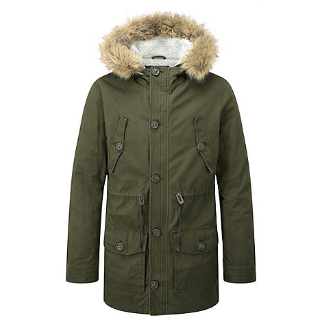 Tog 24 Green harrier parka jacket | Debenhams
