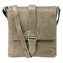 Tog 24 - Taupe henley leather shoulder bag