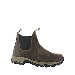 Hi Tec - Dark chocolate hi-tec altitude moc suede men shoe