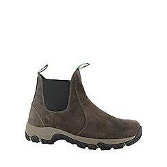 Hi Tec - Dark chocolate hi-tec altitude moc suede men shoe