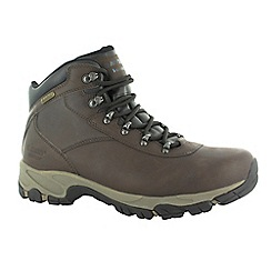 Hi Tec - Dark chocolate altitude v i wp boots