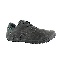 Hi Tec - Black ezee'z lace i shoes