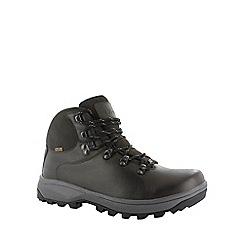 Hi Tec - Dark chocolate hi-tec helvellyn boots