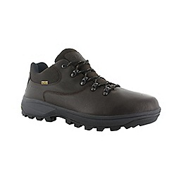 Hi Tec - Dark chocolate v-lite helvellyn wp shoe