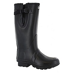 Hi Tec - Black neo wellington boots