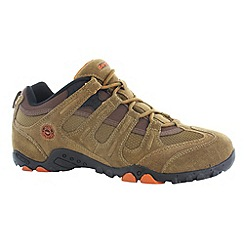 Hi Tec - Smokey brown/orange quadra classic shoes