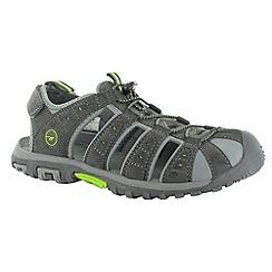 Hi Tec - Charcoal shore sandals