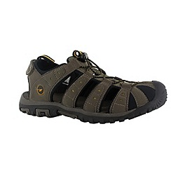 Hi Tec - Smokey brown shore sandals