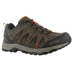 Hi Tec - Dark chocolate hi-tec signal hill wp shoes
