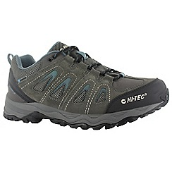 Hi Tec - Dark gull grey hi-tec signal hill wp shoes