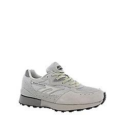 Hi Tec - Silver/grey hi-tec silver shadow ii trainer