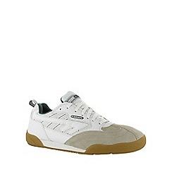 Hi Tec - White/green hi-tec squash classic trainer