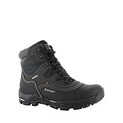 Hi Tec - Black hi-tec trail ox winter boots