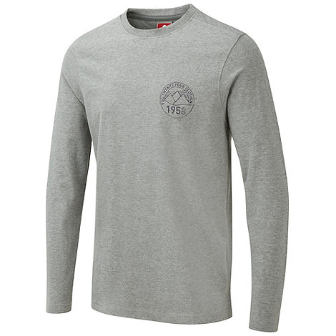 Tog 24 - Grey marl hudson long sleeve t-shirt