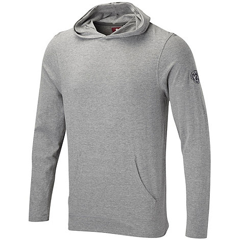 Tog 24 - Light grey marl hudson hooded t-shirt