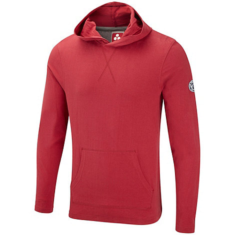 Tog 24 - Chilli red hudson hooded t-shirt