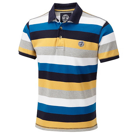 Tog 24 - Buttermilk hunt stripe polo shirt