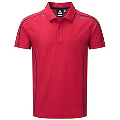 Tog 24 - Bright red huxley tcz tech polo