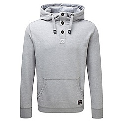 Tog 24 - Grey marl isaac deluxe button hoody