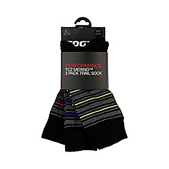 Tog 24 - Grey marl jazz tcz merino trek socks 3 pack