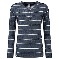 Tog 24 - Midnight marl jenna stripe long sleeve t-shirt