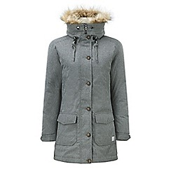 Tog 24 - Dark grey marl kelso milatex/down parka jacket