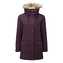 Tog 24 - Dark plum kelso milatex/down parka jacket